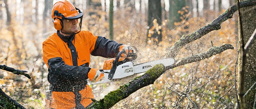 stihl chansaw slider
